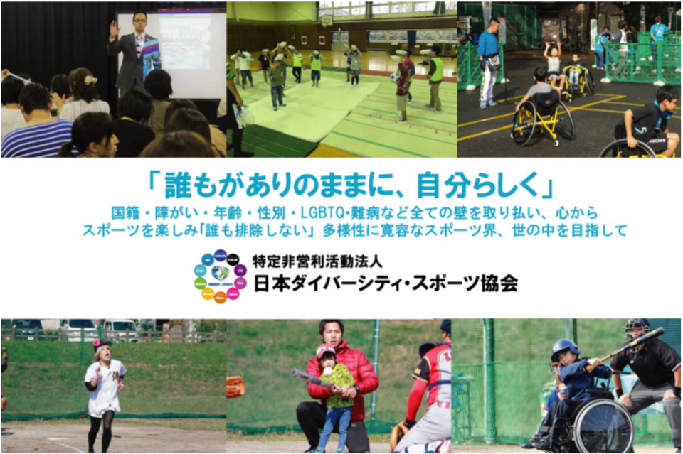 NPO法人 特定非営利活動法人日本ダイバーシティ・スポーツ協会