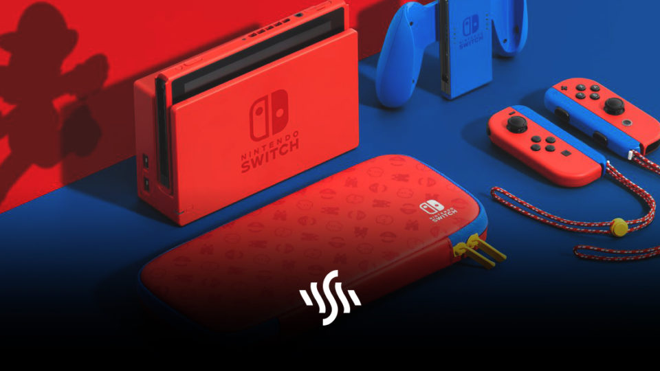 Mario-Themed Nintendo Switch Available Now
