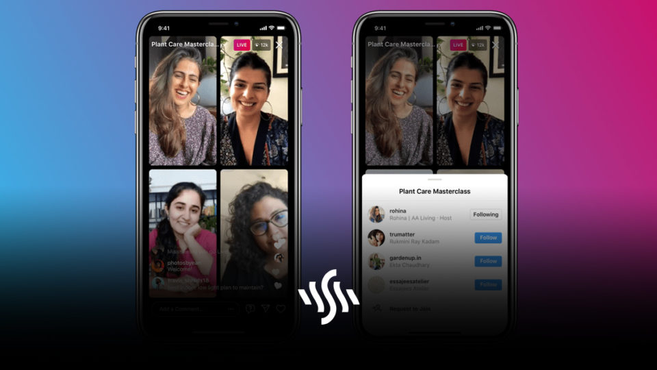 Instagram's new Live Rooms Enables Group Broadcasting