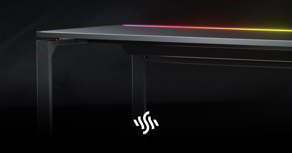 Magnetic Desk for Messy Gamers from Secretlab