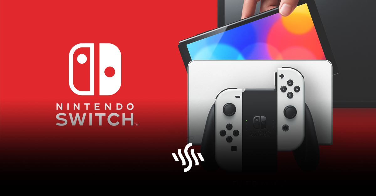 New Nintendo Switch OLED Console Available from October