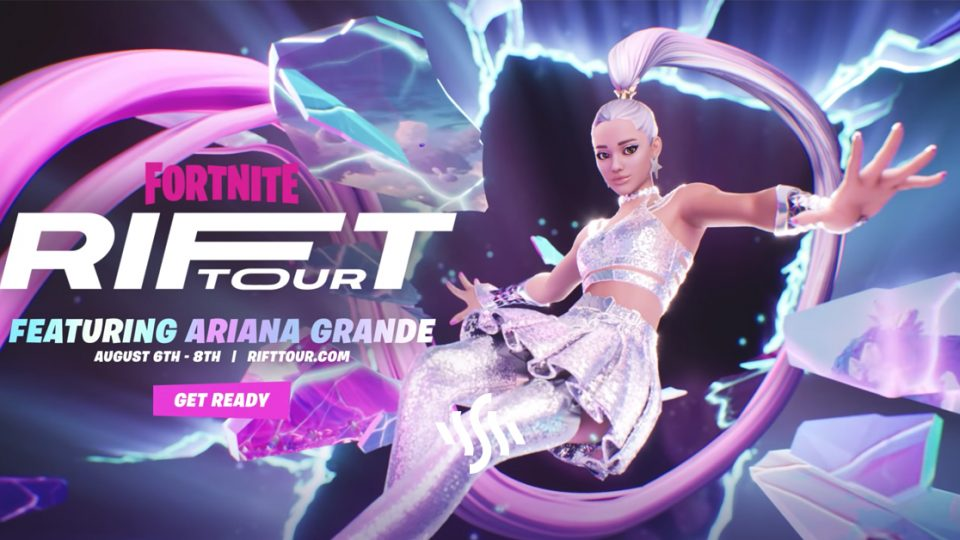 Ariana Grande Will Headline Fortnite's Latest Rift Tour