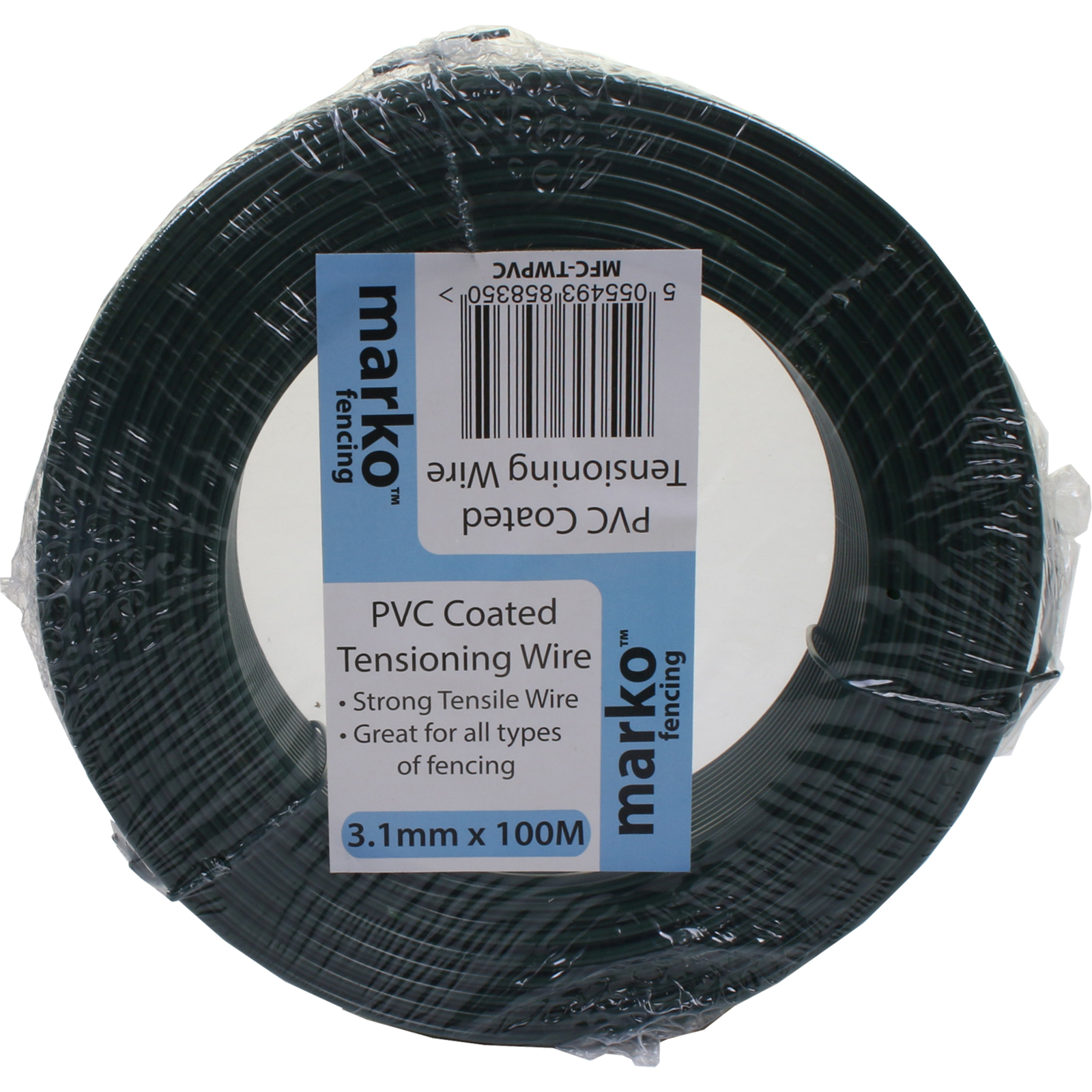 PVC Coated Tension Wire Galvanised Heavy Duty Straining Line Fence ...