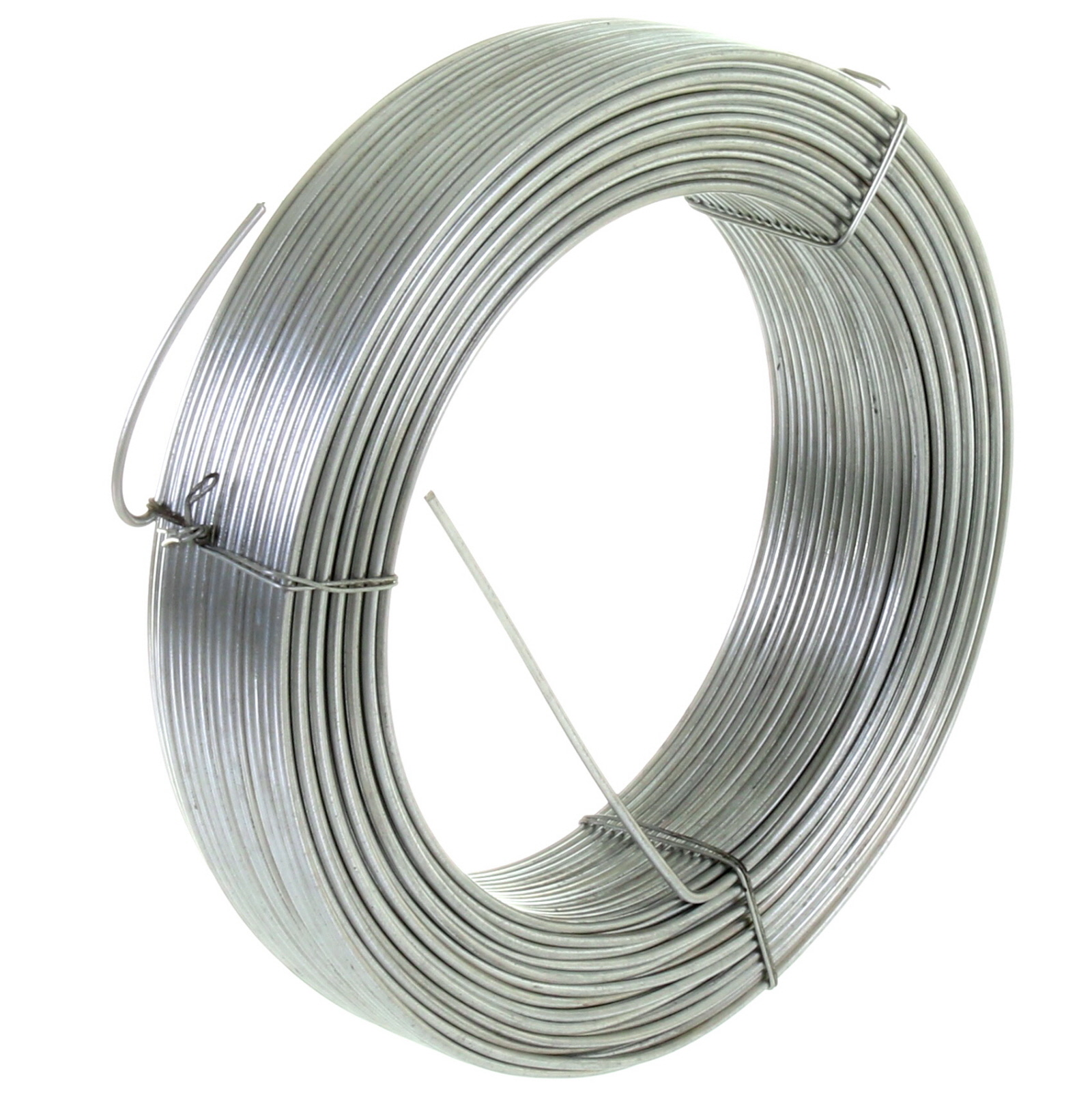 GALVANISED STEEL TENSION STRAINING LINE WIRE FENCING CHAIN LINK 100M ...