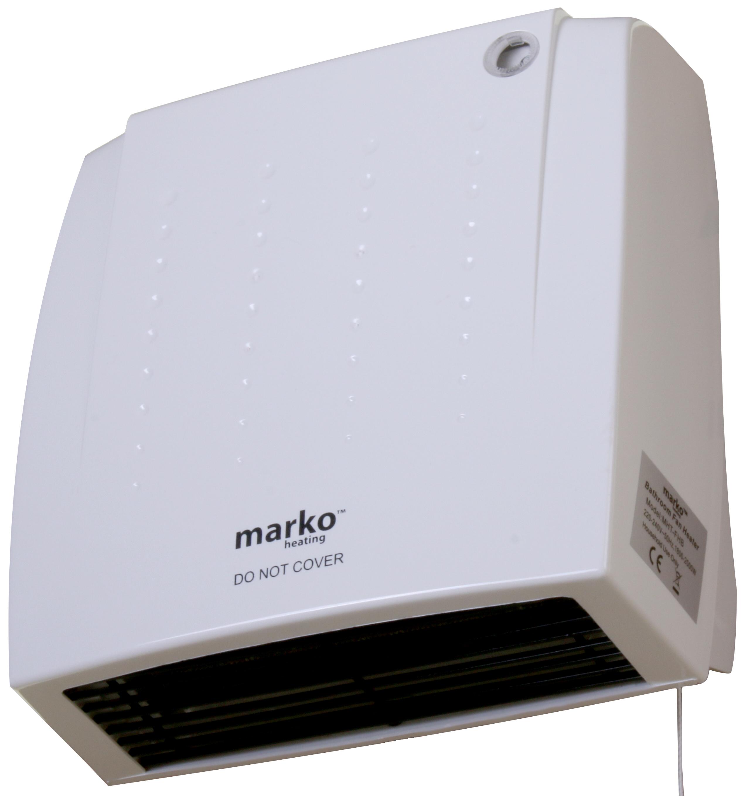 Wall Mounted Electric Bathroom Fan Heaters: BATHROOM HEATER DOWNFLOW 2KW WALL MOUNTED FAN BLOWER PULL