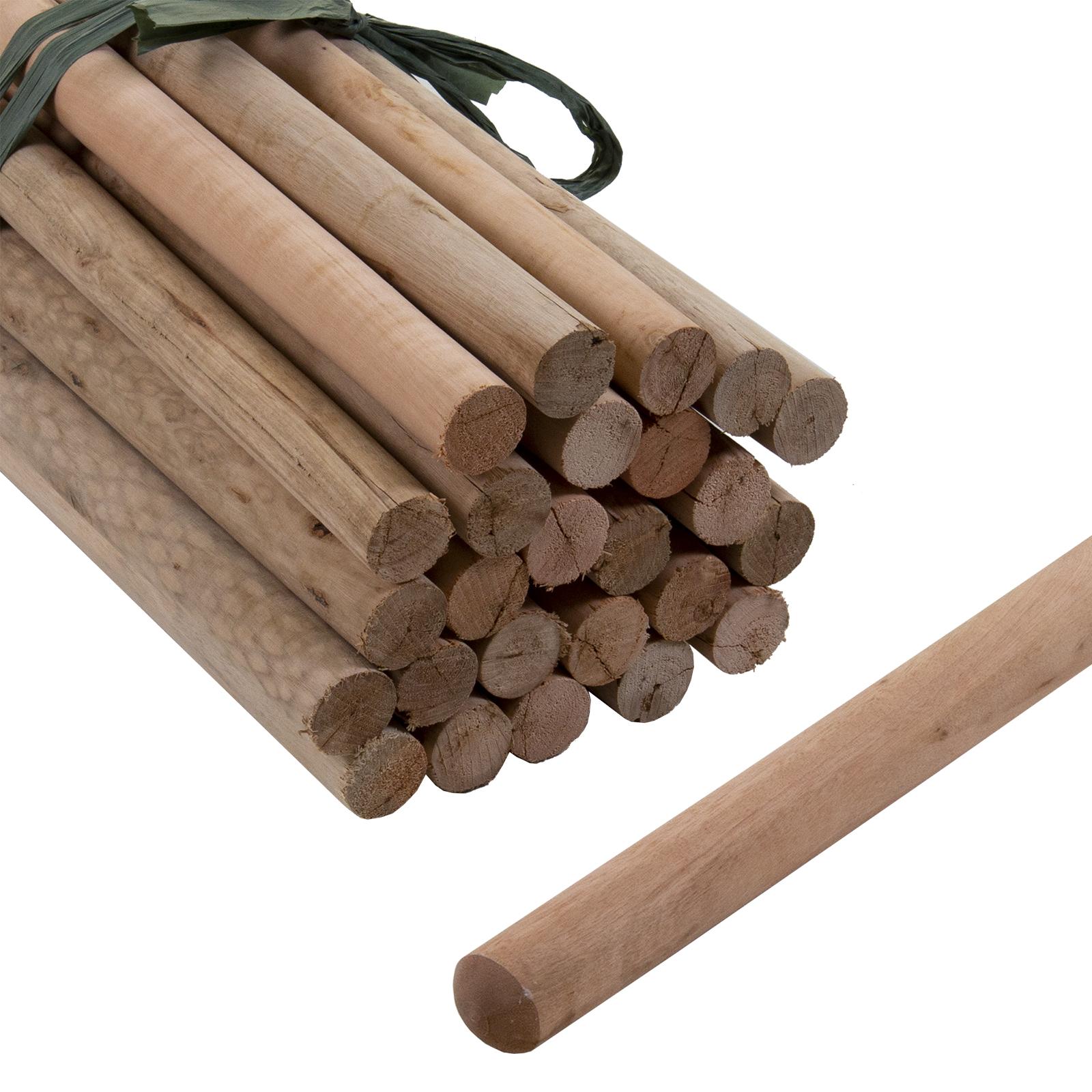 45 Broom Handles 1.2 Meter Long 22mm Thick For Brush Snow Shovel Etc