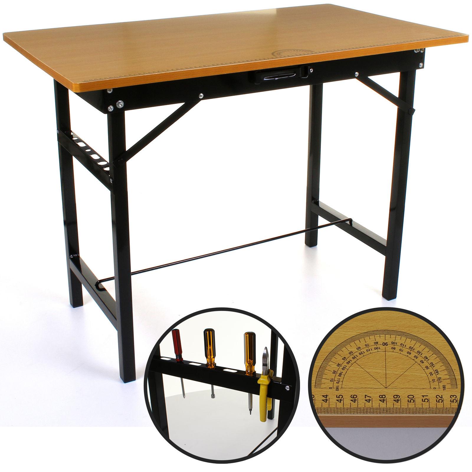 150kg Heavy Duty Portable Folding Workbench Pasting Table Work Bench Foldable 5055493840799 Ebay