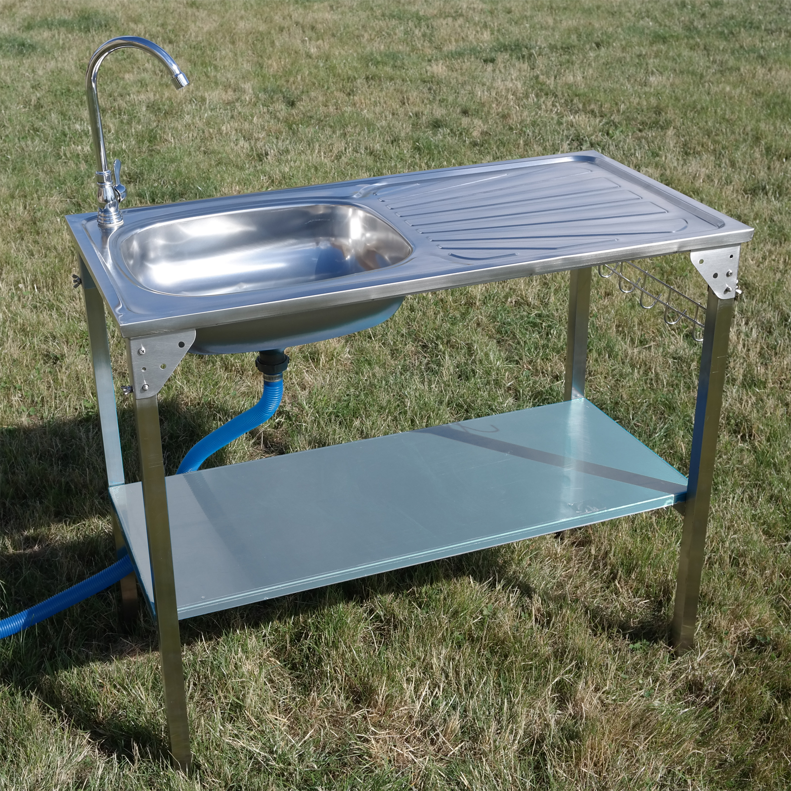 Kitchen Sink Camping Unit Folding Barbecue/BBQ Tap Outdoor Garden ...