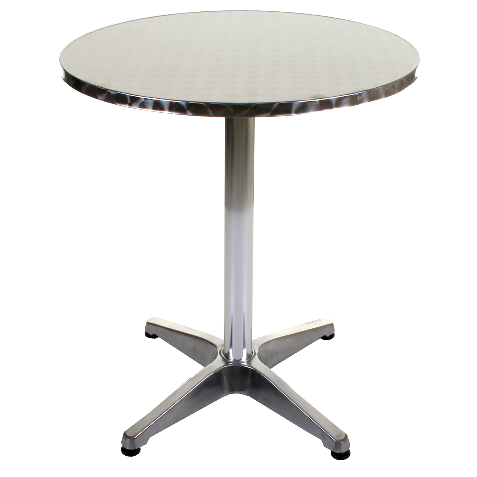 Aluminium Lightweight Chrome Bistro Sets Table Chair Patio
