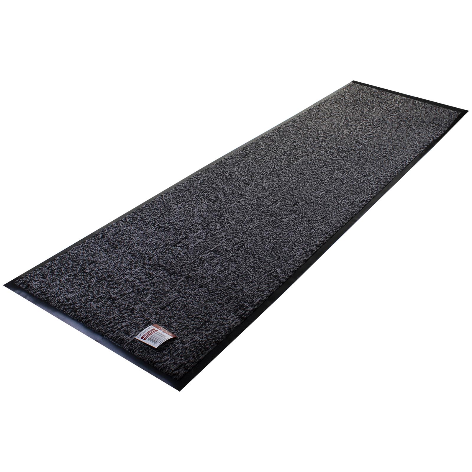 Heavy Duty Floor Mats >> Details About Heavy Duty Non Slip Rubber Doormat Runner Floor Door Mat Rug Kitchen Hall 60x200