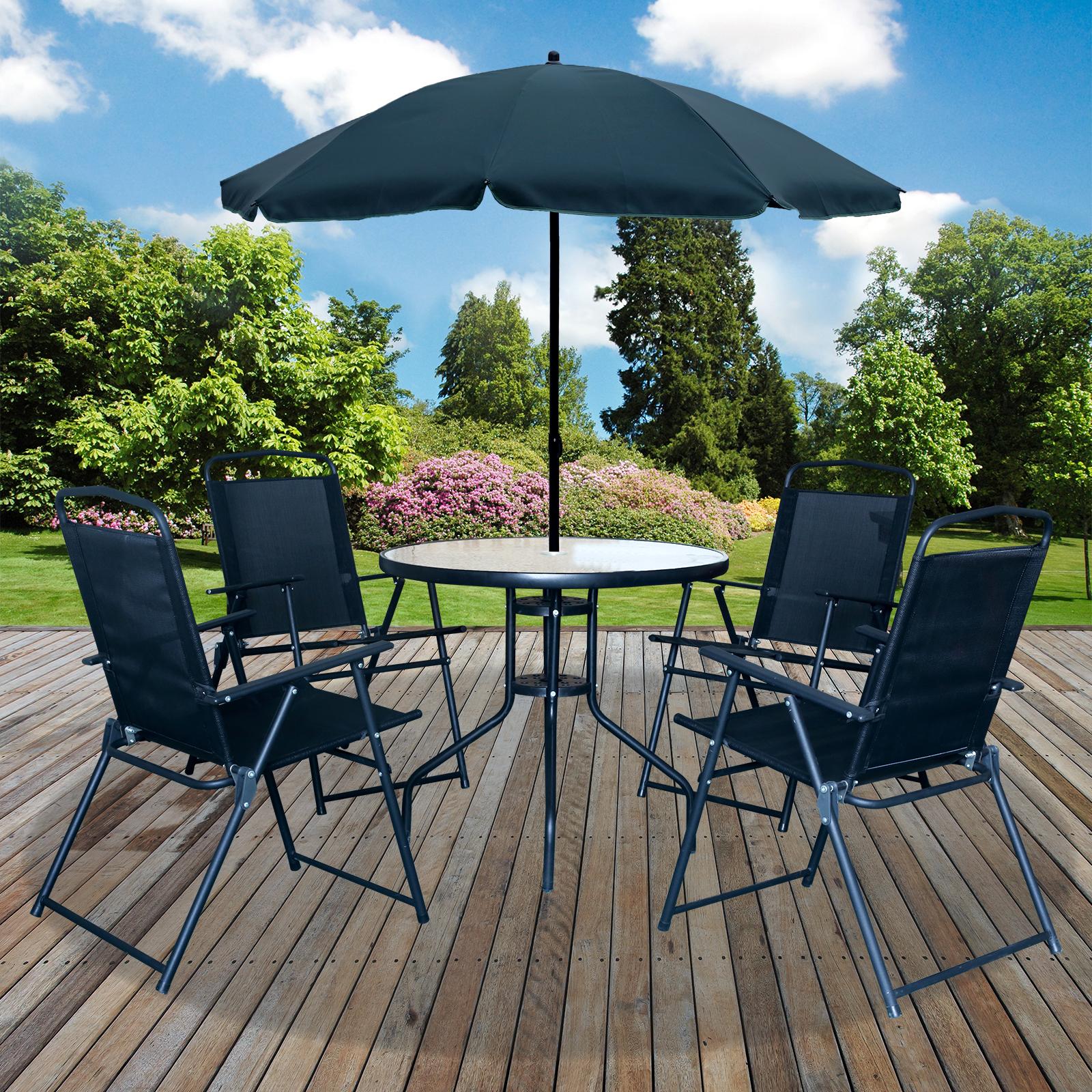 6pc Garden Patio Furniture Set Outdoor