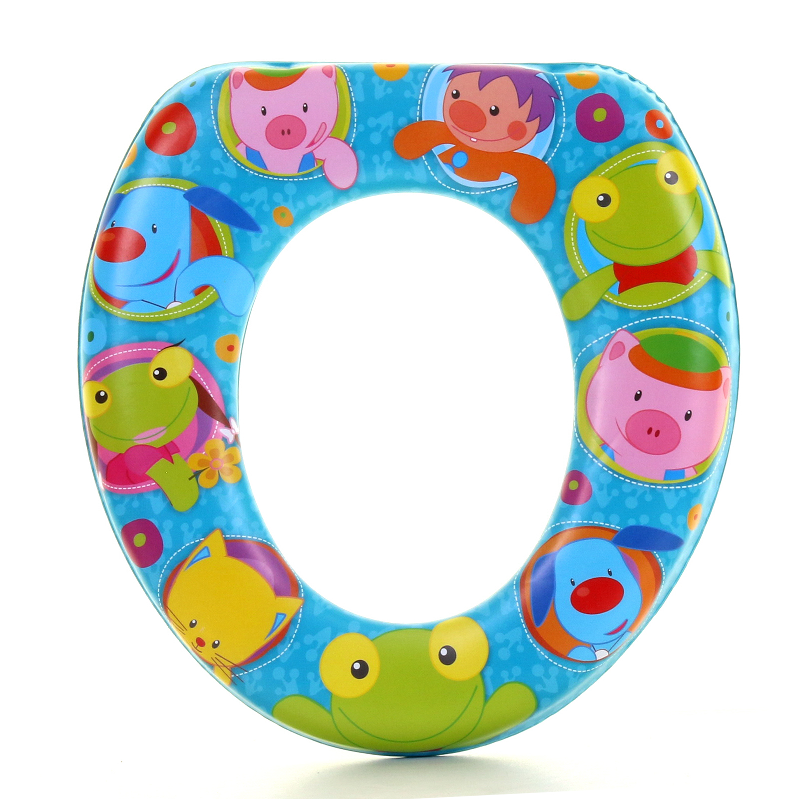 Marko Bathroom Potty Training Toilet Seat Thick Comfortable Foam Padded Baby Toddler Kids Child Bears