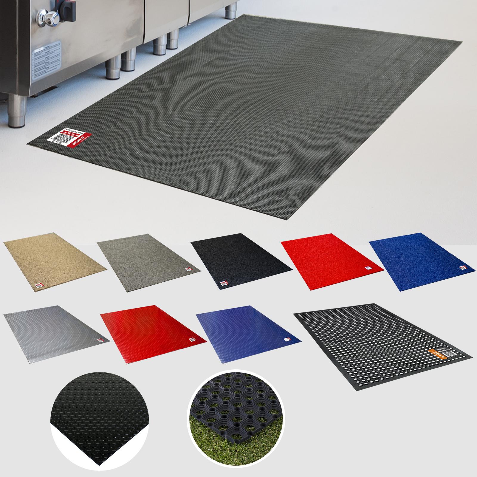 restaurant mat Interlocking Rubber Safety Mat Wet room flooring 3ftx3ft 90x90cm