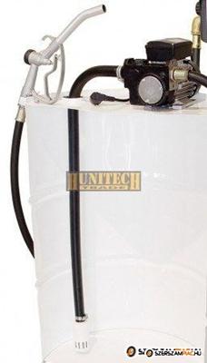 IRON-50H. gázolaj szivattyú, szett, 230V, 50 l/perc, PA-60 automata kimérőpisztoly