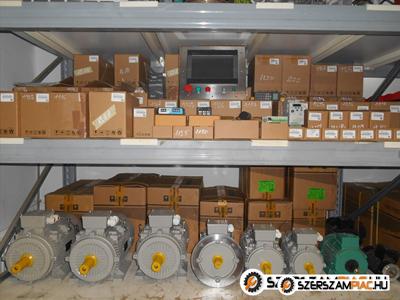 Új és használt 3 fázisú villanymotor azonnal készletről