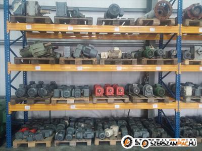 Új és használt hajtóművek, hajtóműves villanymotorok kiegészítők nagy választékban