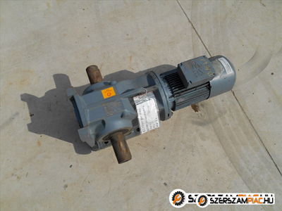 1,5 kw 7,2 ford. SEW hajtómű (azonosító: B1641) tipus: SEW K87-DV100N6/BMG