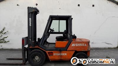 Targonca 5,0 tonnás STEINBOCK SH50.6-FA2 diesel targonca eladó