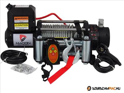 MACON Winch 13000 elektromos csörlő 10 ÉV garancia