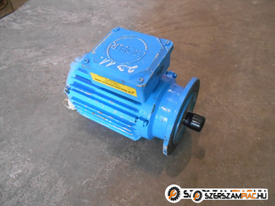 Stöber villanymotor (azonosító: 2311) teljesítmény: 1,5 kw fordulat: 1400