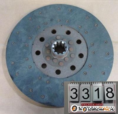 3318 - Teherautó kuplungtárcsa ÚJ