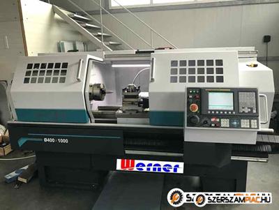 Nagy teljesítményű kiváló CNC eszterga eladó Új garanciával