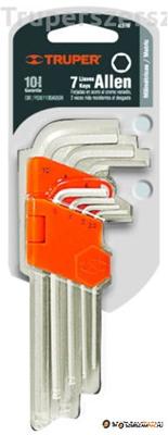 Imbuszkulcs készlet 7 db-os