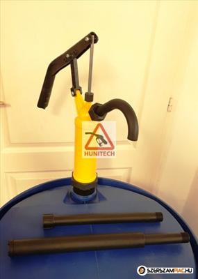 AdBlue pumpa, sárga állítható karos hordópumpa