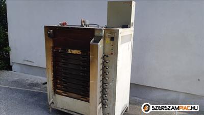 Ipari kemence max 180°C 10 tálcás szárítókemence több db /557a/