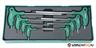 Jonnesway  Torx készlet 8 darabos tálcás