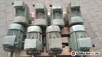 VEM villanymotor (azonosító: 3301-3308) teljesítmény: 3kW fordulat: 700 fordulat/perc