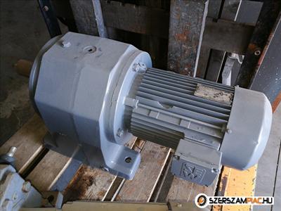 SEW hajtómű (azonosító: 653) 5,5 kw kimenő fordulat: 45