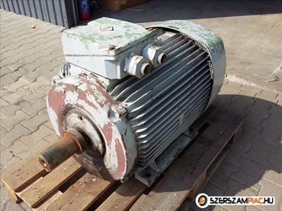 VEM villanymotor (azonosító: 3188) teljesítmény: 55kW fordulat: 590 fordulat/perc