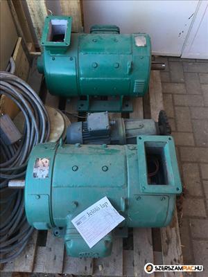Piller Dc motorok vezérlővel (azonosító: 3643-3644) Motor teljesítmény: 19,5 kw fordulat: 300-3000