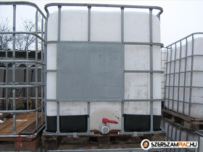 1000l-es Műanyag IBC víztartály eladó