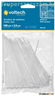 Kábelkötegelő, fehér, 100x2,5mm, 100db/cs.