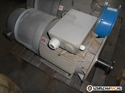 Siemens villanymotor (azonosító: 3712-3713)  teljesítmény: 18,5 kw fordulat: 975