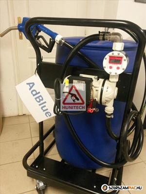 220 literes AdBlue szivattyú szett, kocsival
