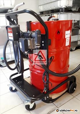 219 literes, Gázolajszivattyú szett, kocsival