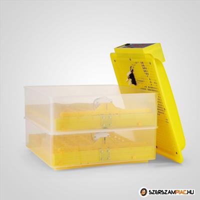 Keltetőgép, tojáskeltető, inkubátor - 96 tojás kapacitással