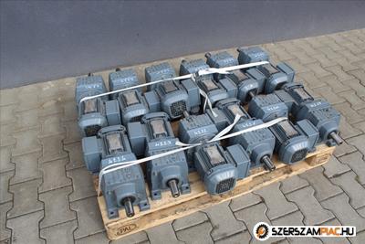 SEW hajtóművek (azonosító: 4219-4230) teljesítmény: 0,55 kw, fordulat: 21