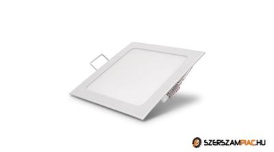 Süllyeszthető led panel 18w négyzet alakú hideg fehér