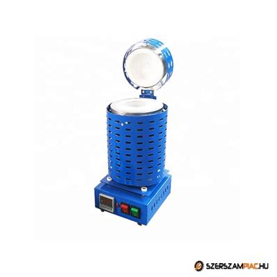 Indukciós kemence, olvasztó kemence - 5 kg - IOK-04