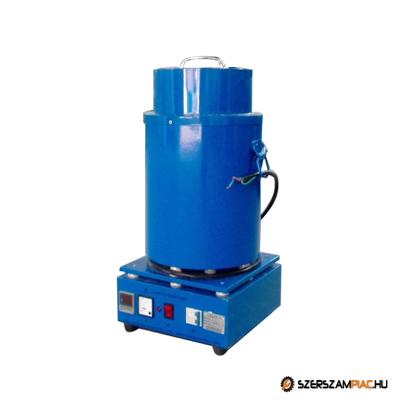 Indukciós kemence, olvasztó kemence - 10 kg - IOK-05