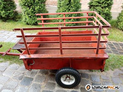 Robi terra kistraktor utánfutó pótkocsi 120x90x30+ 60 cm magasító