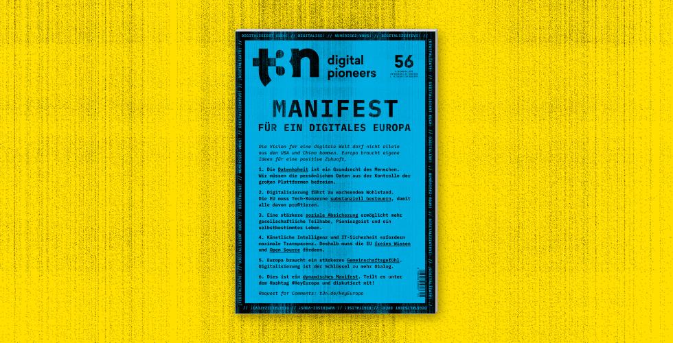 t3n Ausgabe 56 Cover