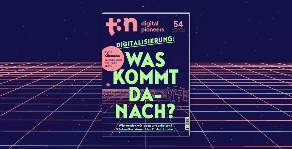 t3n Ausgabe 54 Cover