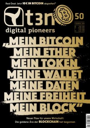 t3n Ausgabe Nr. 50 - Das goldene Zeitalter der Blockchain
