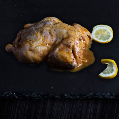Lemon & herb – Free Range Spatchcock Chicken