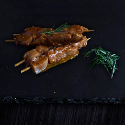 Chicken Sosatie Red Wine & Garlic